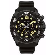Relógio Bulova Analógico Preto Sea King