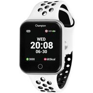 Relógio Champion Smartwatch Prateado Preto/Branco