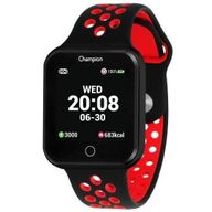 Relógio Champion Smartwatch Preto/Vermelho