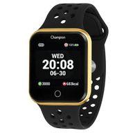 Relógio Champion Smartwatch Dourado/Preto