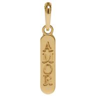 Pingente Coleção Gold Finger Amor