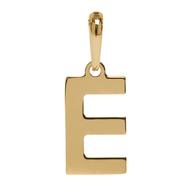 Pingente Coleção Gold Finger Letra E