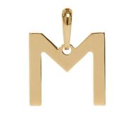 Pingente Coleção Gold Finger Letra M