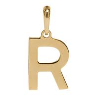 Pingente Coleção Gold Finger Letra R