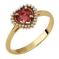 Anel Coleção Para Sempre Gold Finger Coração Natural
