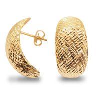 Brinco Gold Finger Cunho Diamantado