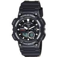 Relógio Casio Esportivo Mundial Digital e Analógico Preto