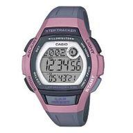 Relógio Casio Digital Lap Memory Standart  Rosa