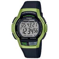 Relógio Casio Digital Lap Memory Standart Preto e Verde