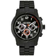 Relógio Bulova Analógico Harley Davidson Preto