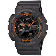 Relógio G-Shock Analógico e Digital Cinza Detalhe Laranja