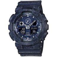 Relógio G-Shock Analógico e Digital Azul Envelhecido