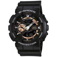 Relógio G-Shock Analógico e Digital Preto e Detalhe Bronze