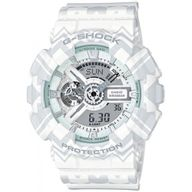 Relógio G-Shock Analógico e Digital Branco Mosaico