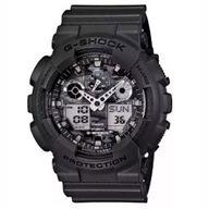 Relógio G-Shock Anadigi Preto Fosco GA 100CF 8ADR