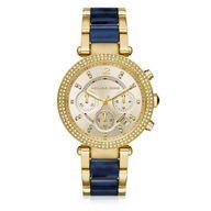 Relógio Michael Kors Analógico Detalhe Azul