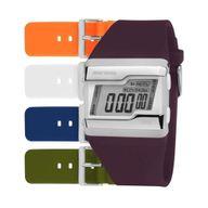 Relógio Mormaii Digital Troca Pulseira /5 Pulseiras Coloridas