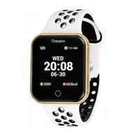 Relógio Champion Smartwatch Dourado Branco/Preto